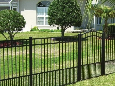 Active Yards Aluminum Fence Jasper Harbor Series