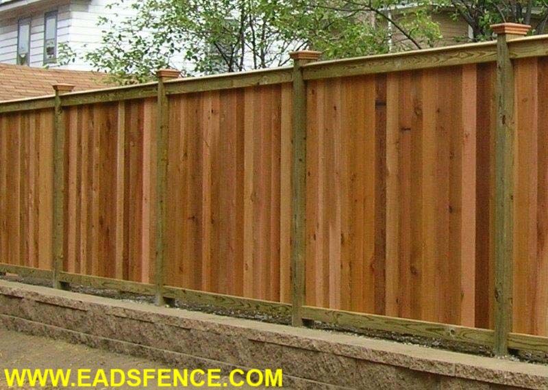 Wood Privacy Fences