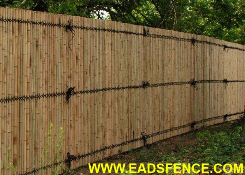 Kokomo Natural Bamboo Privacy Fence