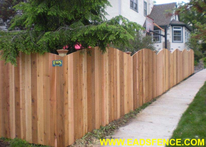 Ohio Fence Company Eads Fence Co Rolltop Privacy Fences