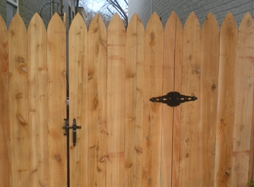 Picture of Gothic Privacy Photo Gallery