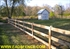 Picture of 3 Rail  Board Fence Photo Gallery