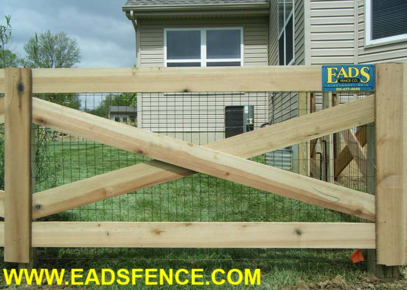 Ohio Fence Company Eads Fence Co 4 Rail Crossbuck Fence Photo Gallery
