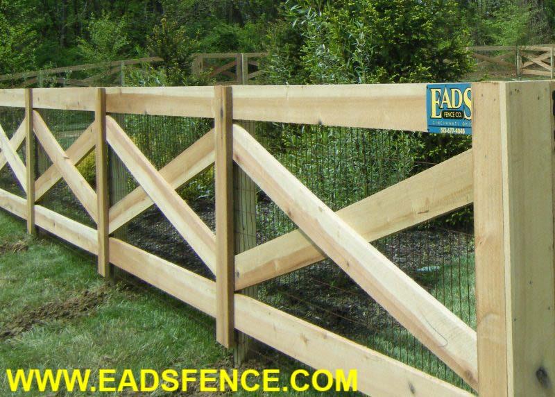 Ohio Fence Company Eads Fence Co 4 Rail Crossbuck