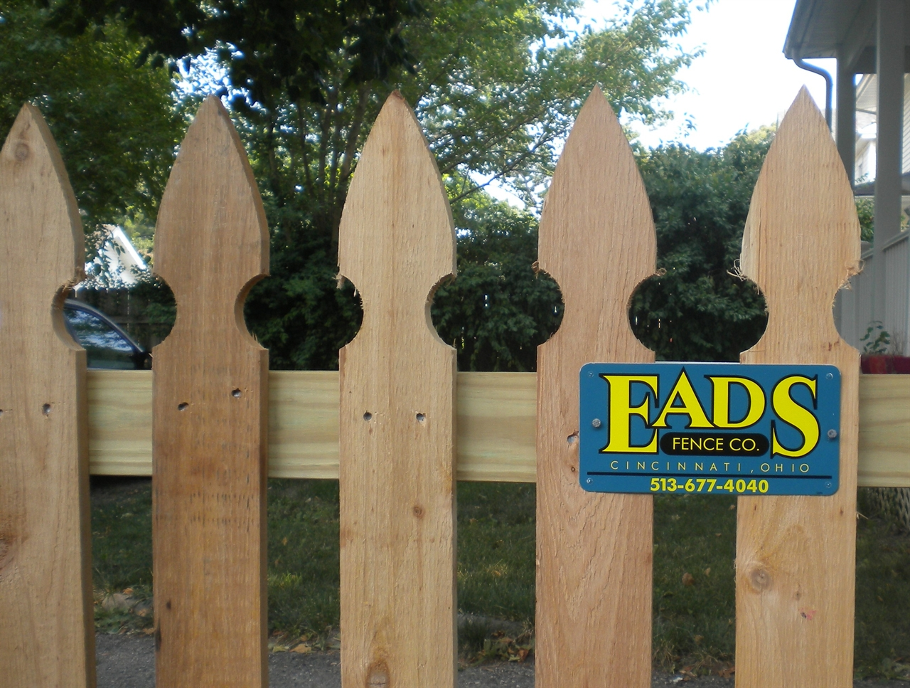 Ohio Fence Company Eads Fence Co French Gothic Picket