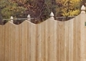 Picture for category Scallop Privacy Fences