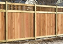 Picture for category Lattice Top Privacy Fences