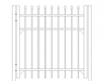 Picture of S1 Bennington Walk Gate Drawing