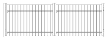 Picture of S4 Saybrook Double Gates Drawing