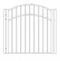 Picture of S9 Storrs Arched Walk Gate Drawing