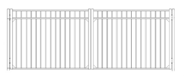 Picture of S9 Storrs Double Gates Drawing