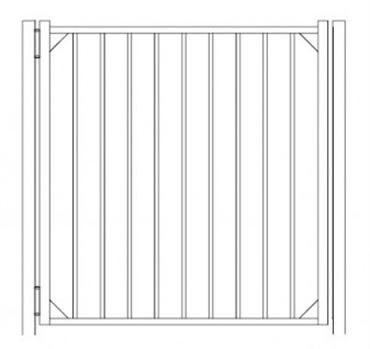 Picture of S10 Derby Walk Gate Drawing