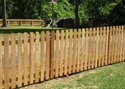Picture for category Wood Picket Fence Photo Galleries