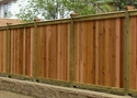 Picture for category Wood Privacy Fence Photo Galleries