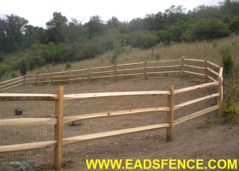 Ohio Fence Company Eads Fence Co Untreated Split Rail