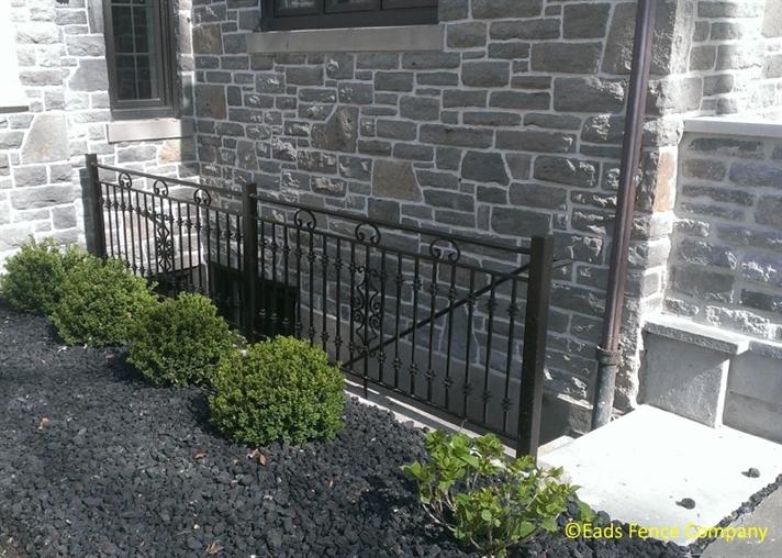 Ohio Fence Company Eads Fence Co Ironworks Custom Iron