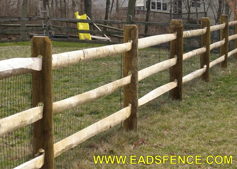 Ohio Fence Company Eads Fence Co Treated Split Rail