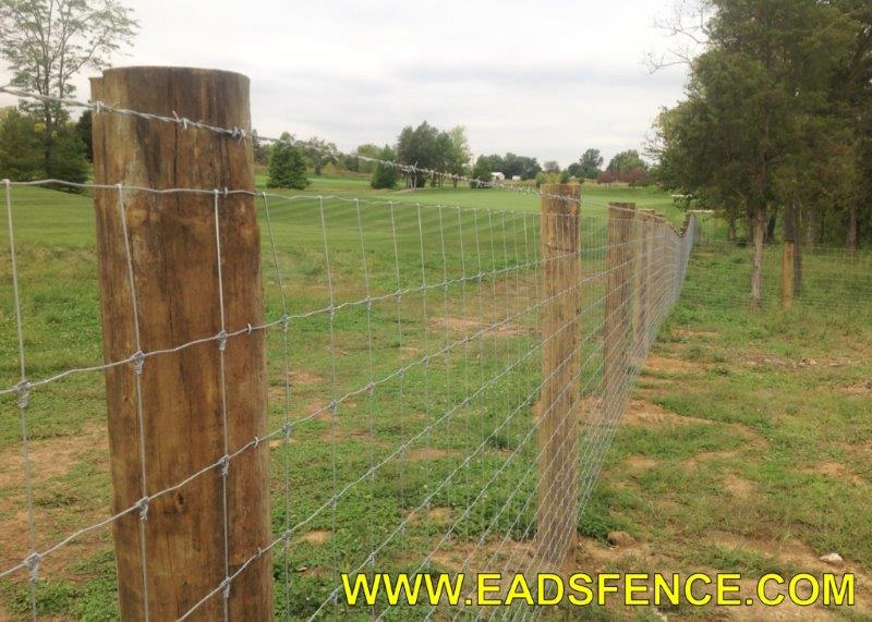 Ohio Fence Company Eads Fence Co Farm Fences Photo Gallery