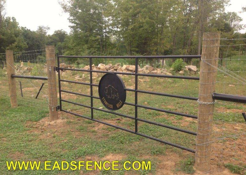 Ohio Fence Company Eads Fence Co Farm Fences Photo Gallery