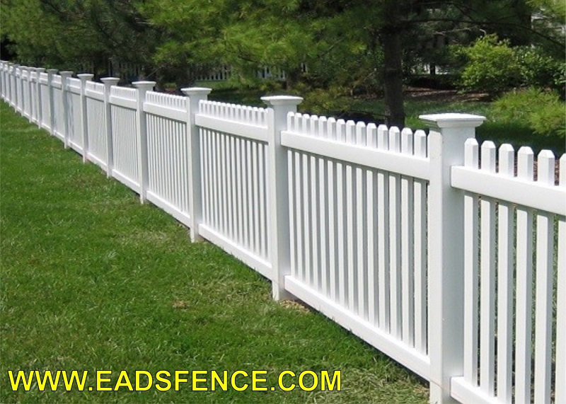Vinyl Picket Fence 67