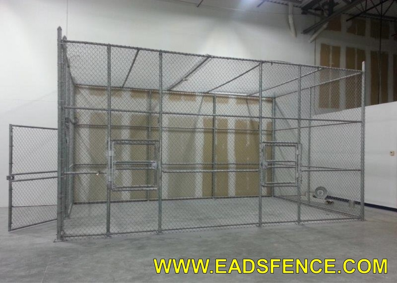Ohio Fence Company Eads Fence Co Commercial Chain Link