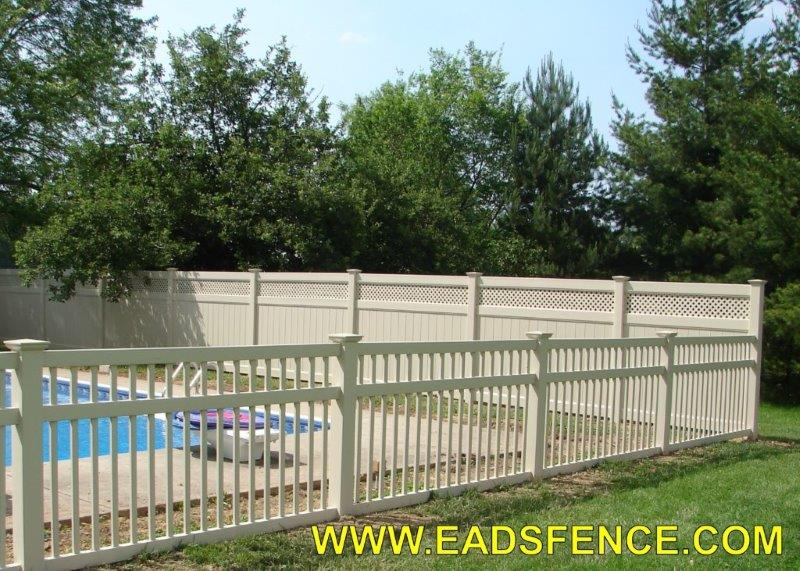Ohio Fence Company Eads Fence Co Vinyl Privacy Fence