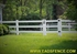 Picture of Vinyl Ranch Rail Gates Photo Gallery