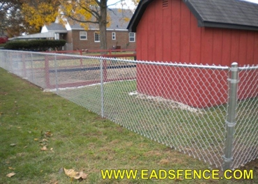 Picture of Residential Chain Link Photo Gallery