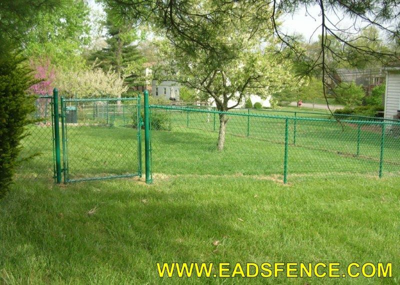 Ohio Fence Company Eads Fence Co Residential Chain