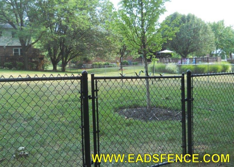 Ohio Fence Company Eads Fence Co Chain Link Gates