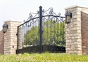 Picture of Ornamental Metal Estate Gates