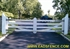 Picture of Ornamental Wood Estate Gates