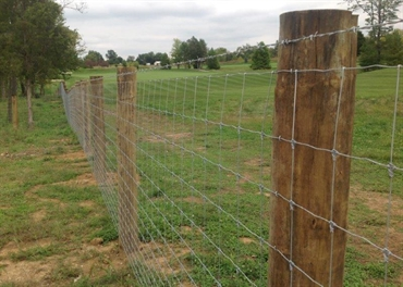 Ohio Fence Company Eads Fence Co Wire Fence Photo Gallery